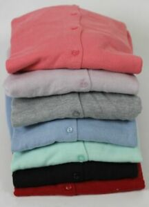 BNWT-Vintage-Boutique-Buttton-Cardigan-lavorata-a-maglia-scollo-tondo-manica-a-3-4-7-COLORI