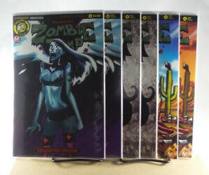 Zombie Tramp #42 Variant Cover A B C D E F Set Action Lab Comics 2017