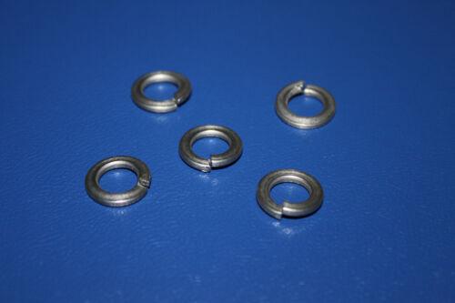 für M4 100 Stück Federringe DIN 127-4,1mm Edelstahl Form B A2 1.4310