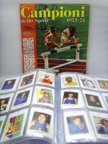 TSCHISHOVA ATLETICA LEGGERA-Rec CAMPIONI dello SPORT 1973//74-Figurina n.39
