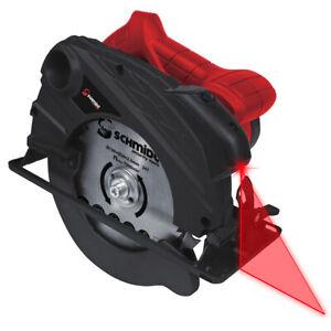 Handkreissäge 1400W Laser Kreissäge Gehrungssäge Tauchkreissäge Tauchsäge Säge