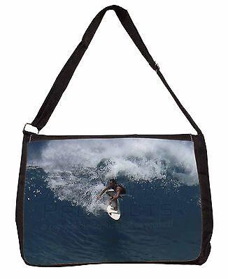 Dinamico Surf Board Surf-sport Acquatici Large Nero Laptop Borsa A Tracolla Borsa, Spo-s3sb- Essere Accorti In Materia Di Denaro