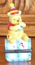 Winnie the Pooh Calendar Series JANUARY Trinket Box Disney Free Shipping
