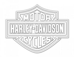 Harley Davidson Logo Cutz Rear Window Decal Motorcycle Truck Car - Stickers for motorcycles harley davidsonsharley davidson decalharley davidson custom decal stickers
