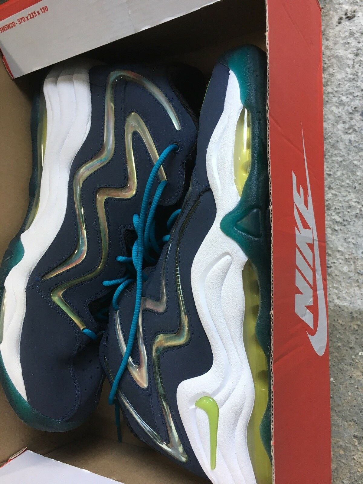 Air Pippen Navy Blue Size 12