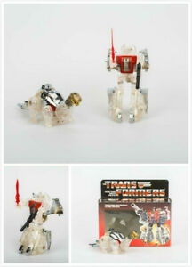 Transformers G1 Reissue Dinobots Clear SLAG Autobots Gift Christmas Toy Robot