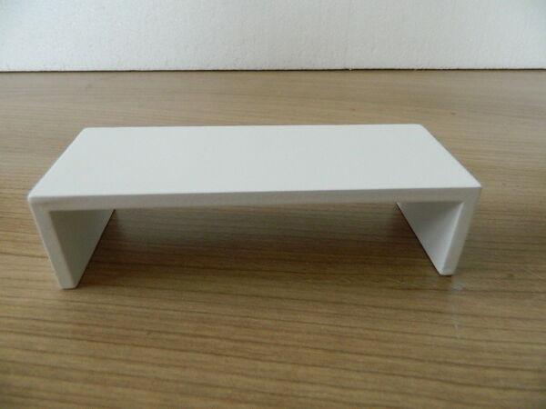 (hp1.24) échelle 1/12th Maison De Poupées Moderne En Bois Blanc Table
