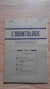 Rivista Mensile - ODONTOLOGIA - 73ème Anno - Febbraio 1952, N° 2