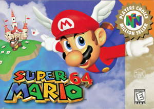 Super Mario 64 - Nintendo N64 - Cart Only - New Condition - Free Shipping - USA