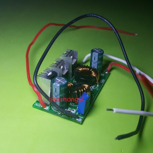 50W Constant Current LED Driver DC12V to DC30-38V 1.5A for 50W CHIP LED New