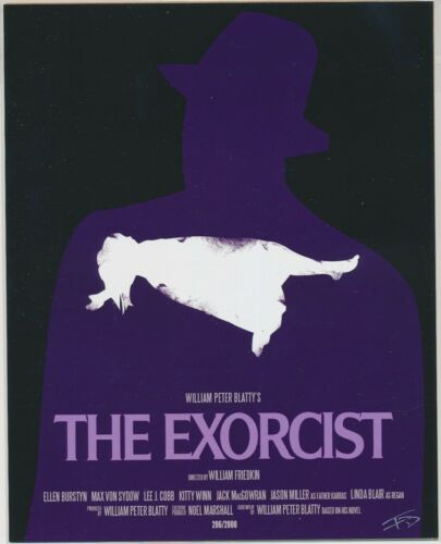 THE EXORCIST HEAD TURNER BAM BOX Horror ART PRINT 8x10 LE //2000 FRANK DEAN