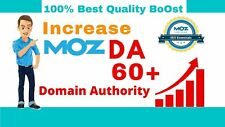 Increase Domain Authority Moz Da 50 With High Authority Backlinks Google Seo