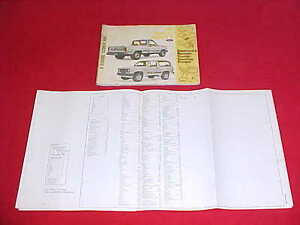 details about 1985 original ranger bronco ii electrical service wiring diagrams evtm manual 85 Bronco II Ignition Wiring Schematics