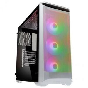 Details about Phanteks Eclipse P400 Air ARGB Tempered Glass Mid Tower Case  - White Mid Tower