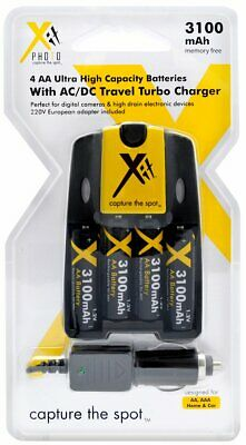 4 Batteries for Canon NB4-300 NB4300 SX110 SX150 IS SX120 SX130 A800 AA Charger