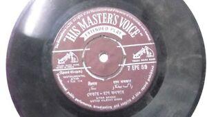VILAYAT-KHAN-INSTRUMENTAL-SITAR-rare-EP-RECORD-45-vinyl-INDIA-VG