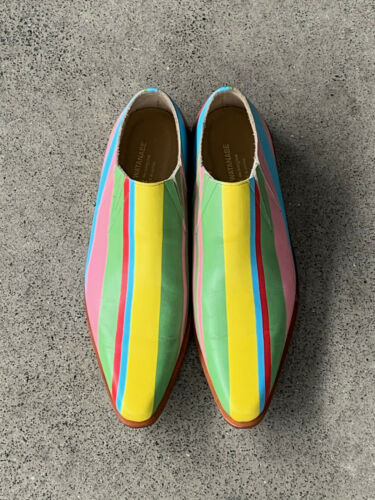 JUNYA WATANABE comme des garcons striped shoes