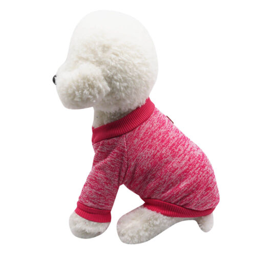 Pet Clothes SWEATER Chihuahua Yorkie Small Dog Coat Jacket Fleece Soft Warm