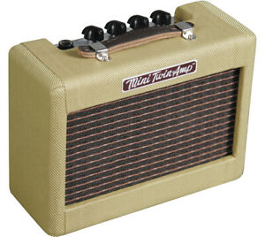 Fender-57-039-Twin-Mini-Portable-Tweed-Electric-Guitar-Amplifier-Amp