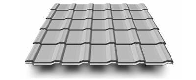 trapezblech,trapezplatten Symbol Der Marke Aluminium Dachplatte Korona Blechdapfannen