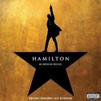 Hamilton (Original Broadway Cast Recording Explicit 2CD Set, American Musical