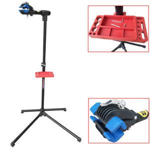 Folding-Adjustable-Bicycle-Maintenance-Repair-Stand-Rack-Mechanic-Workstand-DCUK