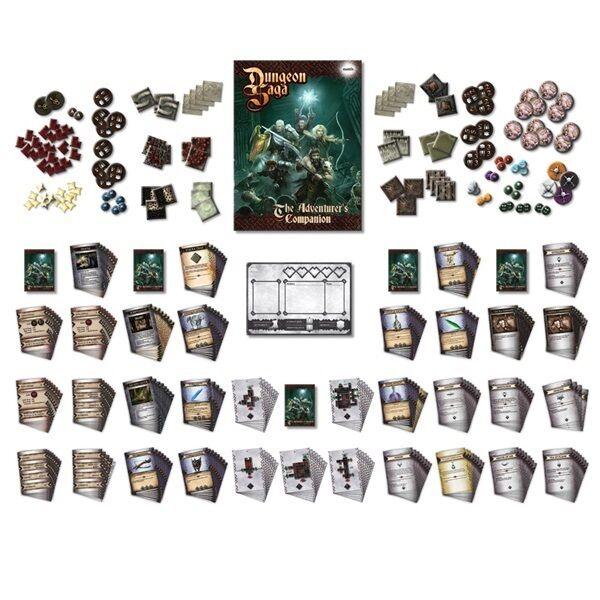 Dungeon Saga Boardgame - The Adventurers Companion Expansion