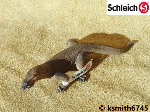 NOUVEAU * Schleich KOMODO DRAGON solide Jouet en plastique Wild Zoo Animal Reptile