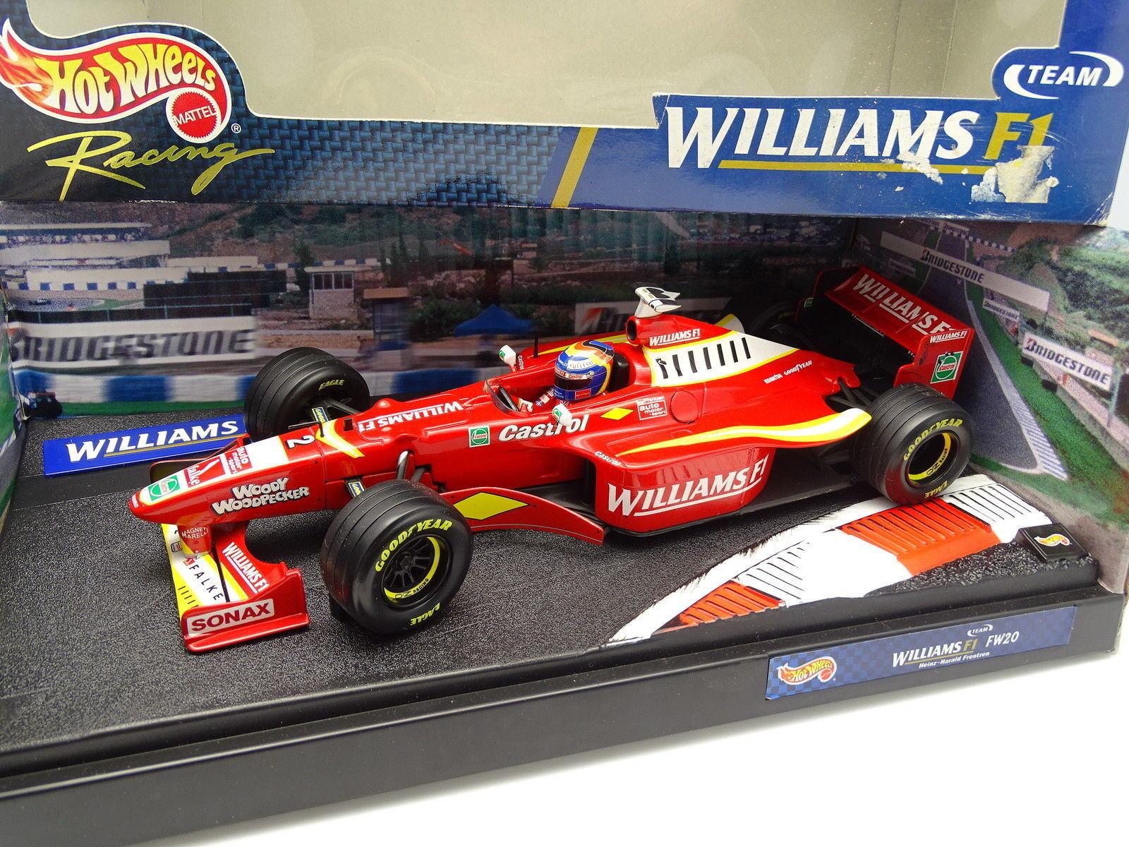 varm Ruedas 1  18 - F1 Williams Mecachrome FW20 Frentzen