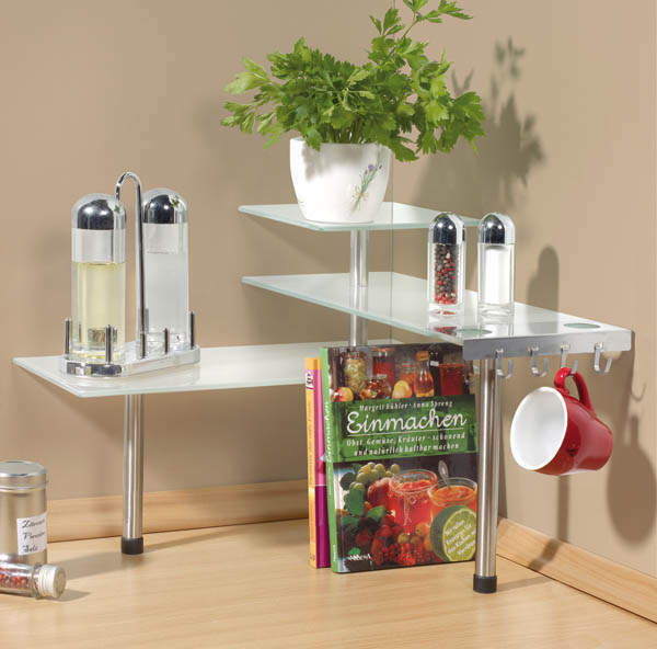 Westfalia Küchen Eck - Regal Glas | eBay