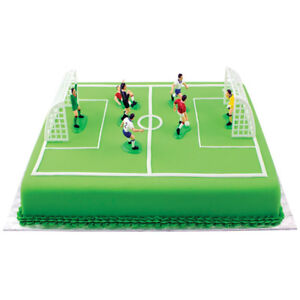 Astonishing Pme Soccer Football Cake Topper Decorations Birthday Cake Funny Birthday Cards Online Alyptdamsfinfo
