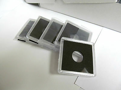 2x2 Capital Holder Plastic Snaplock For Mercury Dime Coin White Capsule Display
