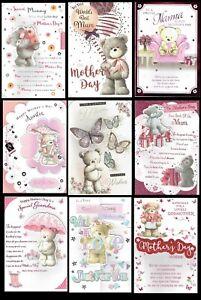 GRANDMA ~  Quality Birthday Card ~ With FAB VERSES ~ CHOICE OF DESIGN