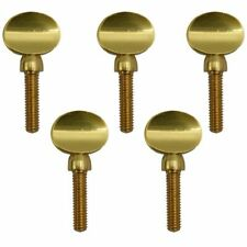 Gold Copper Clarinet Saxophone Sax Neck Tightening Screws Soprano Alto Teno F7k2
