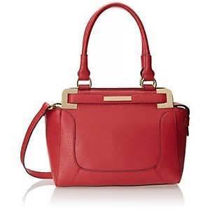 Anne Klein Bag Trinity Medium Satchel Grapefruit by Agsbeagle tmm