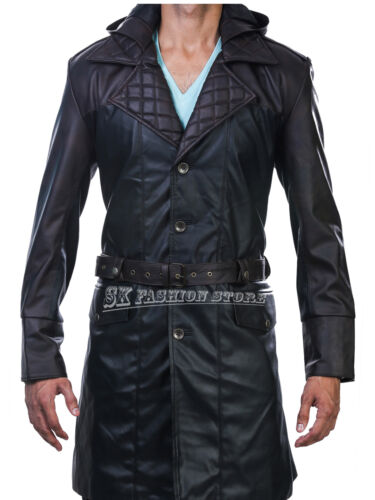 In Wool and Faux Leather Assassin/'s Creed Syndicate Jacob Frye Coat