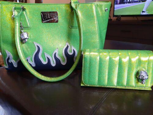 Lux De Ville Elvira Darling Diabla Tote Bag Lime G