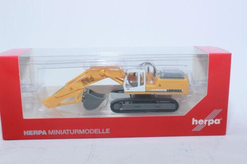 Herpa 148931 LIEBHERR à chenilles Excavatrice R 954 1:87 h0 NEUF dans neuf dans sa boîte