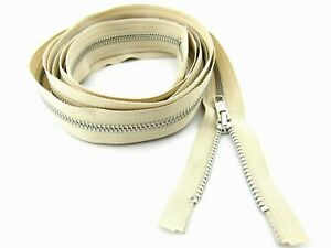 Extra-Long-Metal-YKK-Open-Ended-Separating-Zip-for-Sleeping-Bags-Camping-Tents