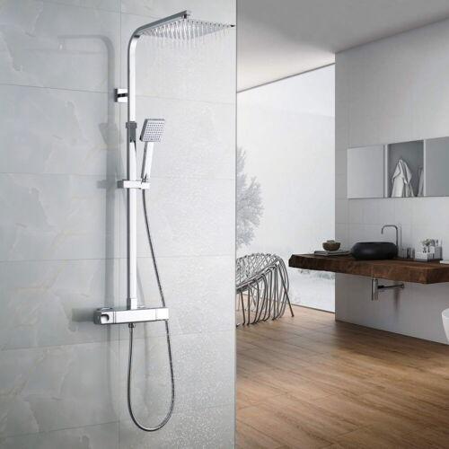 Thermostat Duschsystem Regendusche Duscharmatur Duschkopf Duschset Handbrause DE