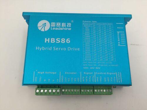 Power Supply Hybrid Servo Motor Nema34 8Nm Closed Loop Stepper Driver CNC Kit