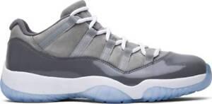 detailed look eb835 9506a La foto se está cargando Nike-Air-Jordan-Retro-Xi-11-Baja-Gris-