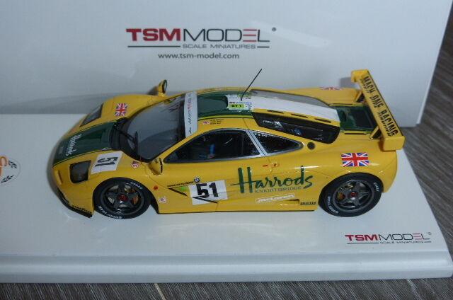 MCLAREN F1 GTR  51 HARRODS 3RD 24H LE MANS 1995 WALLACE BELL TRUE SCALE TSM11435