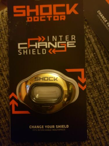 Shock Doctor Interchange Mouthpiece SHIELD for Mouth Guard Football-4 Available