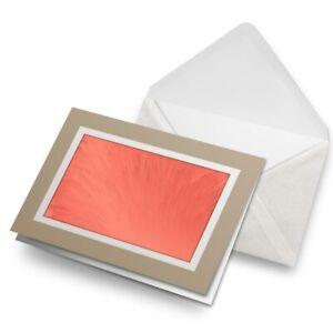 Greetings-Card-Biege-Pink-Red-Paint-Pattern-Art-2045