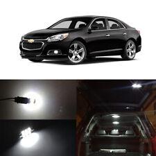 8 X White Led Interior Bulbs Kit License Plate Lights For 2013 2019 Chevy Malibu