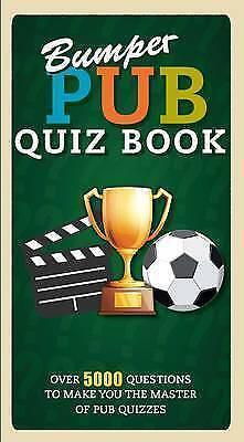 1 of 1 - Bumper Pub Quiz Book, , Very Good Book