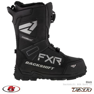FXR Helium Pro BOA Boot 2020 Black//Charcoal//Hi-Vis - Mens 8//Womens 10//EU 41