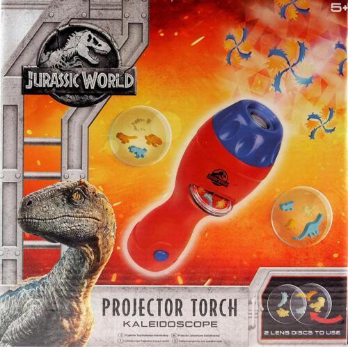 Jurassic World projecteur torche Kaléidoscope Kids Traditionnelles Jouer Jouet Parc