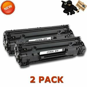 2PK-CF283X-83X-Black-Toner-Cartridge-for-HP-LaserJet-Pro-M201n-M201dw-M225dn-MFP